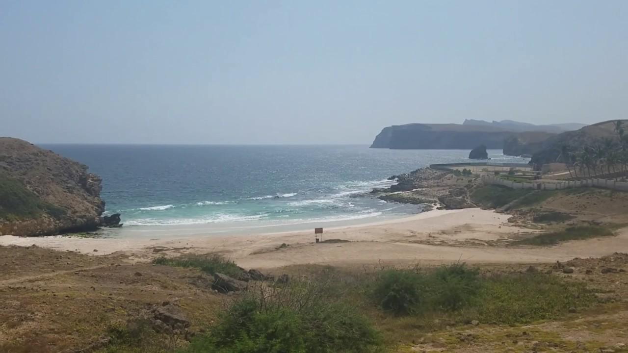 Tropical Island Beach Ambience Sound: ميناء ريسوت بمحافظة صلالة