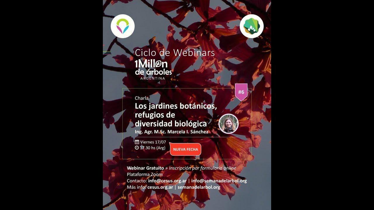 """VI Encuentro """"Los jardines botánicos, refugio de diversidad biológica"""" / Ing.Agr. Marcela Sánchez"""