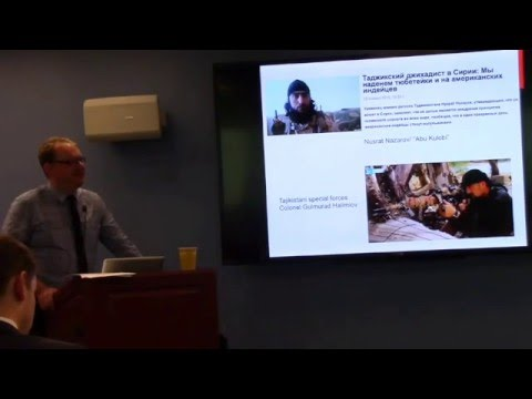 "Noah Tucker, ""Public and State Responses to ISIS Messaging in Central Asia"""
