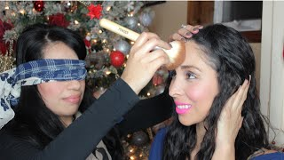 Blindfolded Makeup Challenge Christmas Edition 2014 Thumbnail