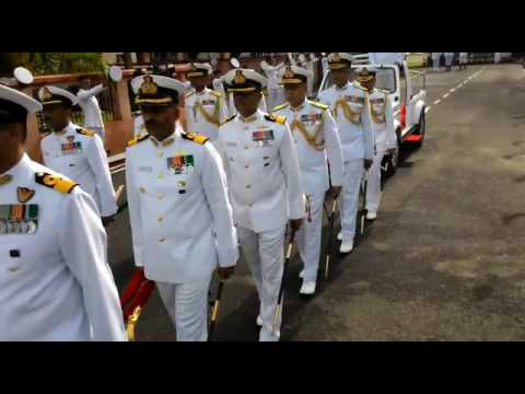 Vice Admiral Girish Luthra AVSM VSM would be relinquishing charge of the Flag Officer Commander