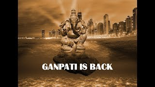 Ganpati is back Special images marge in Photoshop [Artwork]