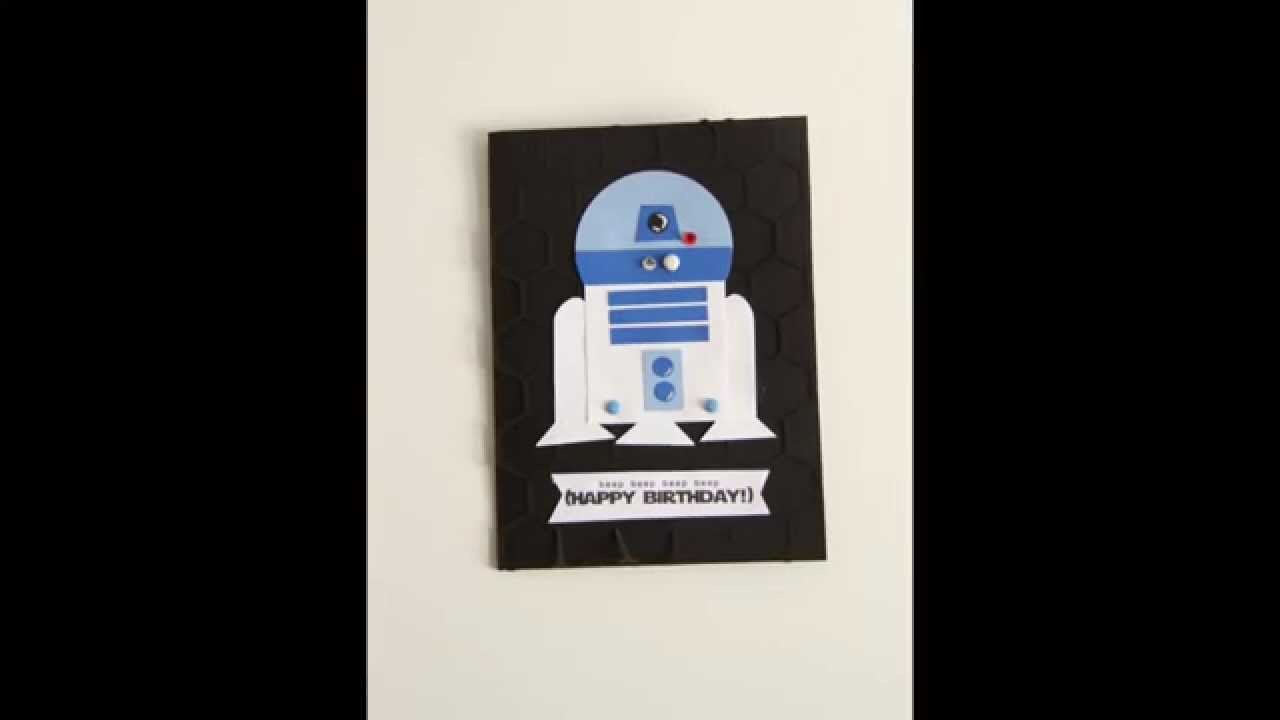How to make an r2d2 birthday card youtube how to make an r2d2 birthday card bookmarktalkfo Choice Image