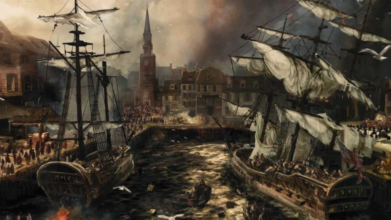 Assassins Creed 3  Official Boston Tea Party Trailer UK  YouTube