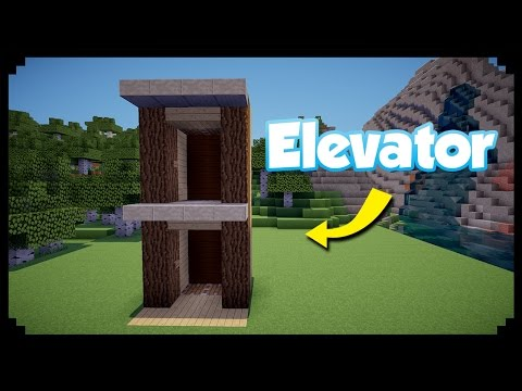 ✔Minecraft: How To Make A Working Elevator | Simple & Compact