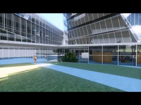 הדמיית בניין עיריית