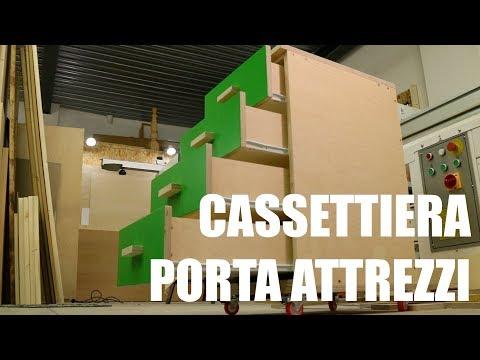 Progetto Cassettiera In Legno.Cassettiera Porta Attrezzi Progetto Fai Da Te Festa Del