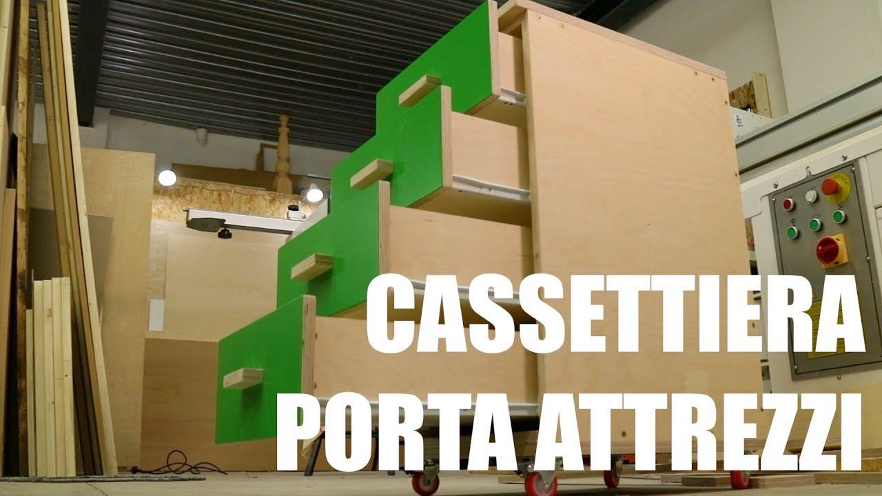 Cassettiera Porta Attrezzi Progetto Fai Da Te Festa Del