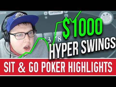 $1000 HYPER SIT AND GO SESSION - 동영상