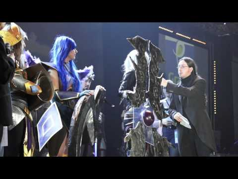 Gamers assembly 2016 : finale du concours cosplay