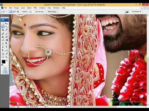 Wedding Album Color correction in Photoshop Hindi tutorial thumbnail