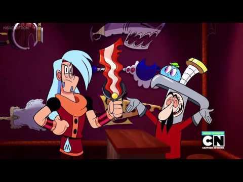 Loch Mess Mighty Magiswords (cartoon world) - Pass 3