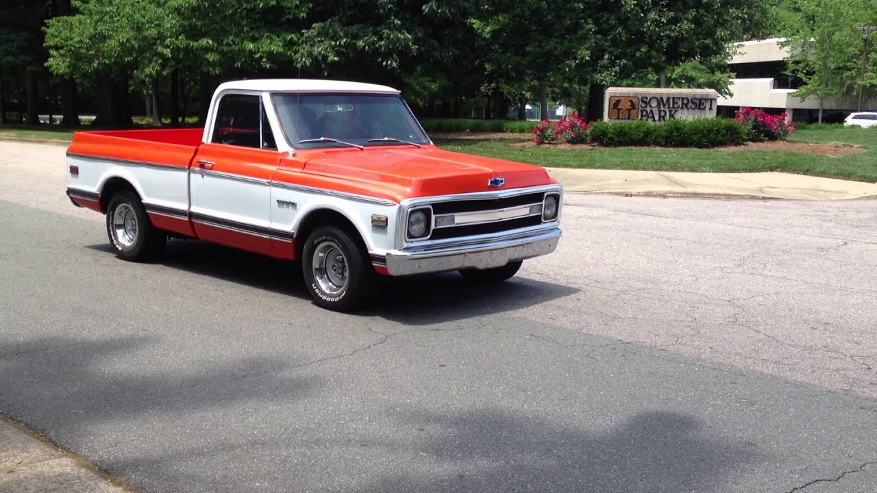 1970 Chevy C10 Resto Mod Short Bed For Sale   22 500 00