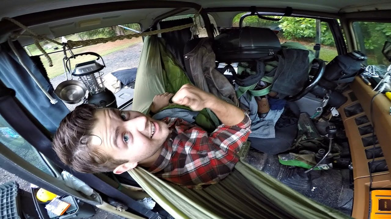 Jeep Wrangler Camping Mods How To Fit A Hammock In Camper