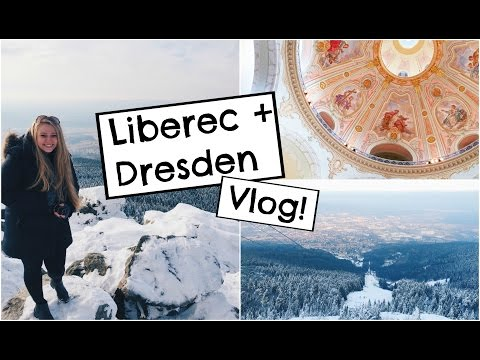 Liberec, Czech Republic + Dresden, Germany | Study Abroad Travel Vlog!