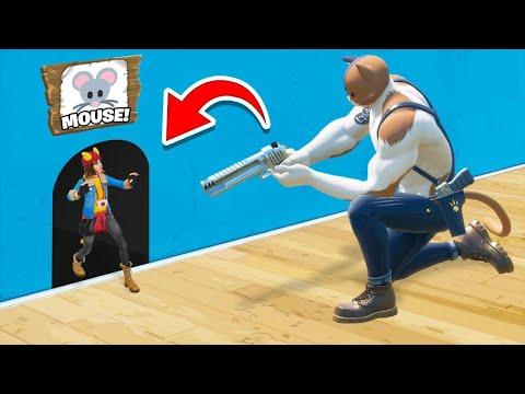 Cat & Mouse HIDE AND SEEK In Fortnite! (New Mini Game)