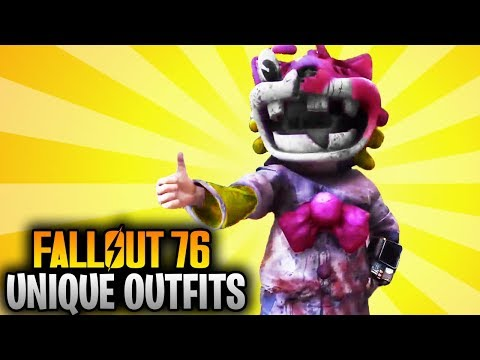 Fallout 76 Top 10 Best Secret Unique Outfit Locations IN THE GAME! (Rare Outfits) thumbnail
