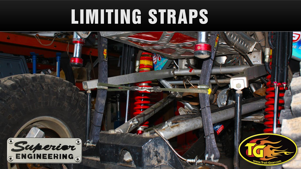 Trail Gear Limiting Straps And Clevis Kit Youtube