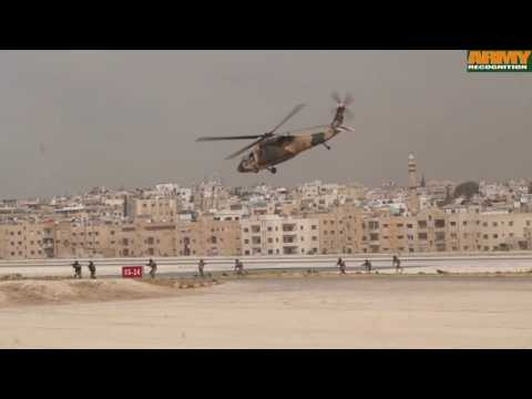 SOFEX 2016 live demonstration Jordanian Special Forces Opera