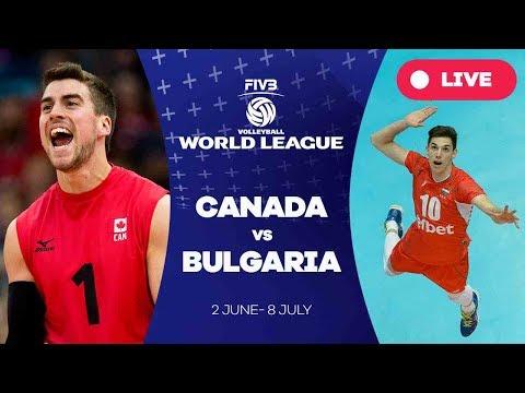 Canada v Bulgaria - Group 1: 2017 FIVB Volleyball World League