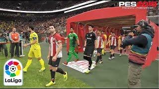 PES 2019 | La Liga | Athletic De Bilbao vs Villareal | Gameplay PS4