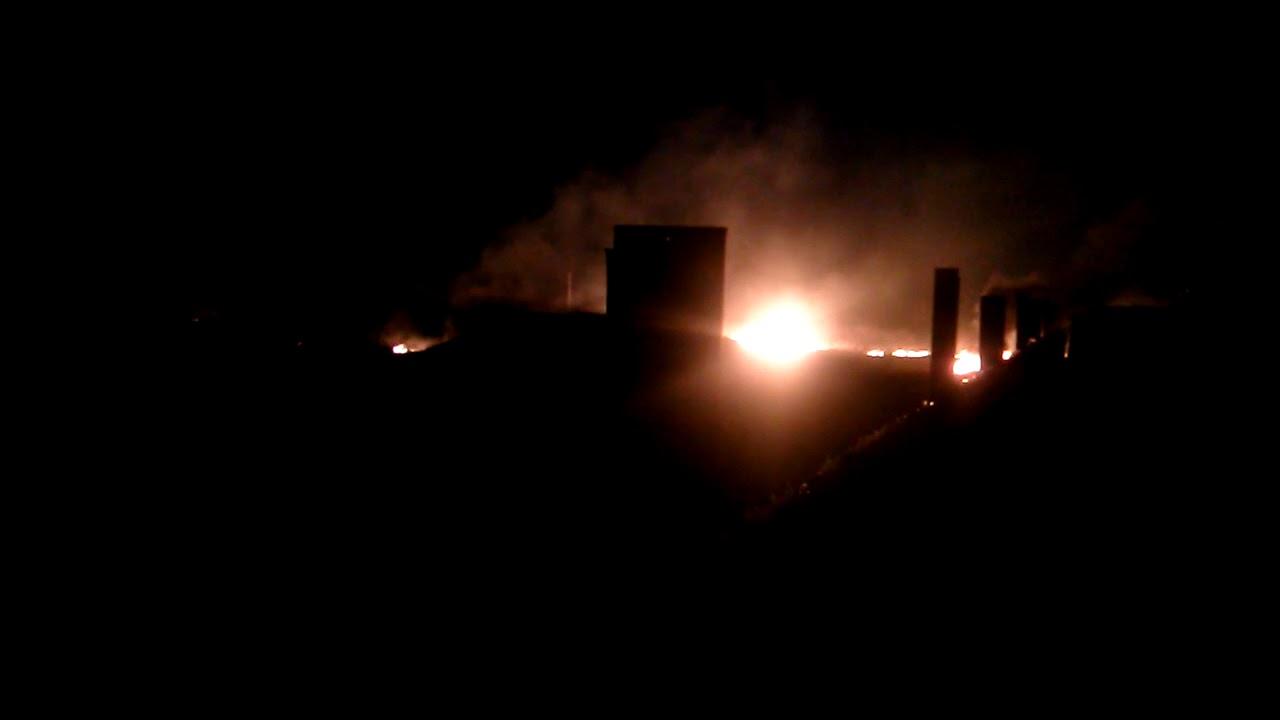 Донецк, 09.04.2018. Пожар на Текстильщике (1)