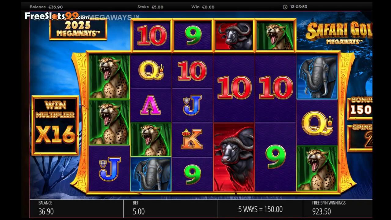 Safari Slot Machine