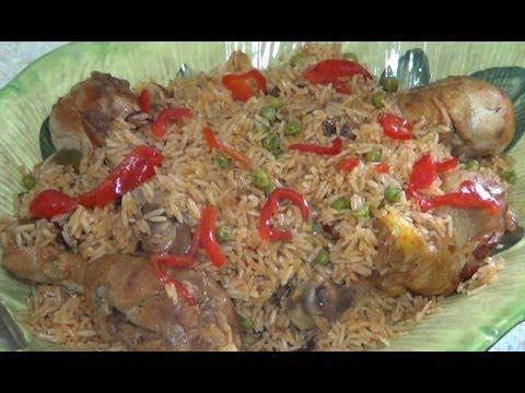 Arroz con Pollo y Cerveza – Como hacer arroz con pollo y cerveza Receta práctica video receta
