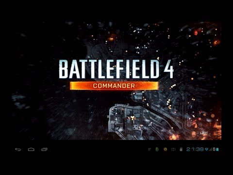 Battlefield 4 - Commander App - Android gameplay