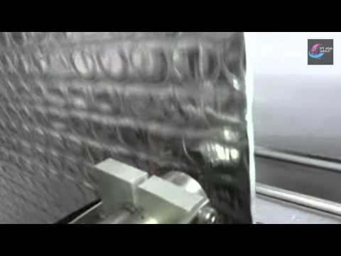 Linx CIJ 7900 Continuous Inket Printing On Sheets Of Air Bubble Wrap