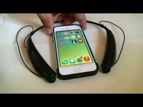 Lg tone plus (hbs-730) stereo bluetooth headset manual
