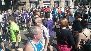 Manchester 10K 2014 - White Zone 50 minutes before start
