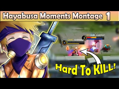 Hayabusa Moments Montage | Top Global Players | Mobile Legends