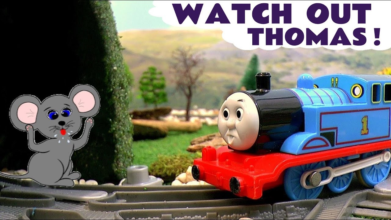 thomas amp friends toy trains episode percy and minions