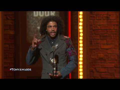Acceptance Speech: Daveed Diggs - Best Featured Actor in a Musical (2016)