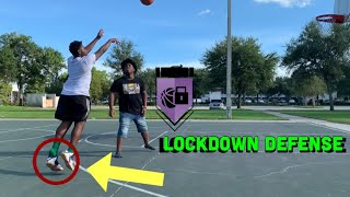 1v1 vs LOCKDOWN DEFENDER!!!!!! Too TUFF
