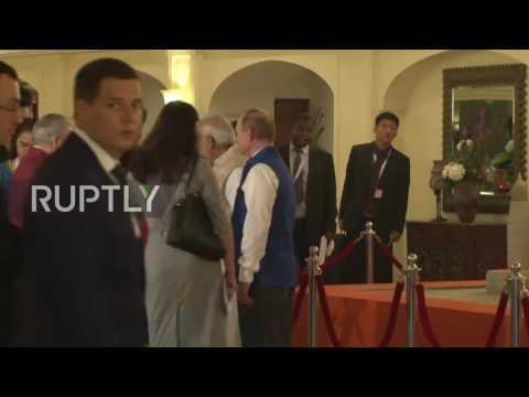 India: Modi hosts dinner for BRICS leaders in Goa