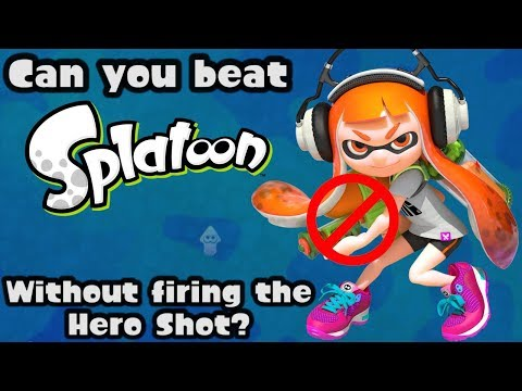VG Myths - Can You Beat Splatoon Without Firing the Hero Shot?