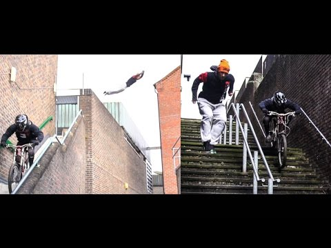 EPIC EXTREME SPORTS BATTLE (Parkour vs Urban Downhill) 4K