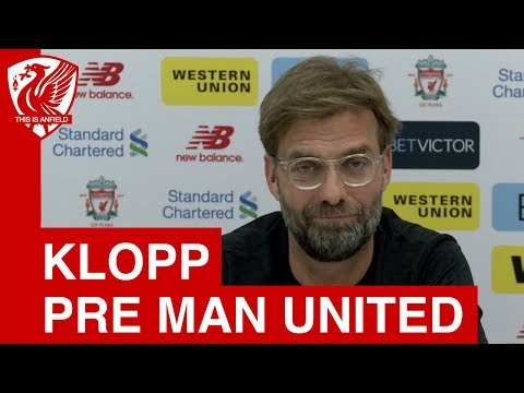 Jurgen Klopp Pre Match Press Conference | Man United vs. Liverpool