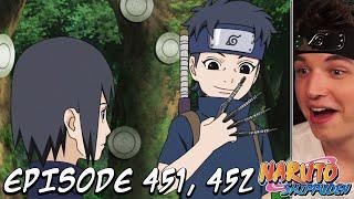 Itachi Meets Shisui! - Itachi Shinden Part 1 REACTION   Naruto Shippuden Episode 451, 452