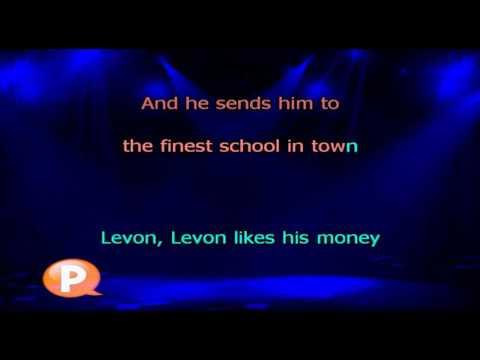 Elton John   Levon - Karaokê