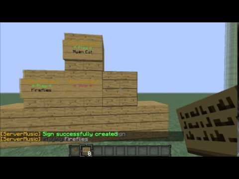 Minecraft bukkit tutorial  - Server Music