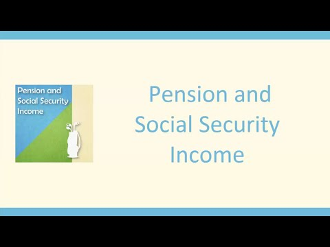 Pension & Social Security Income Reporting