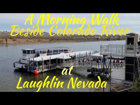 Morning Walk Beside Colorado River | Laughlin Nevada Resorts Hotel