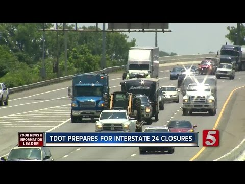 4 Weekend Closures Set For Interstate 24 Bridge Project