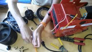 Harbor Freight #69721 Fan Disassembly