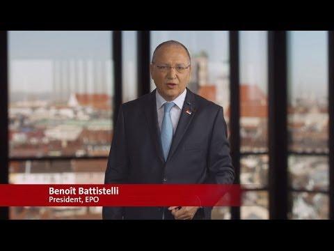 Benoît Battistelli, Président de l'OEB, au sujet du Rapport annuel 2013