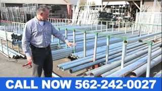 Fencing Pipe Supplies Orange County CA (562) 242-0027