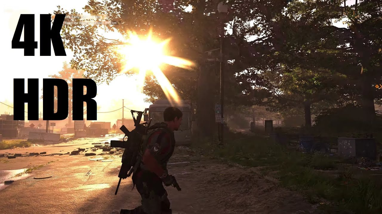 The Division 2 Beta - HDR 4K Gaming - EVGA GeForce RTX 2080 Ti FTW3 ULTRA